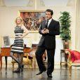 Répétition générale de la pièce Le Président, sa femme et Moi, au théâtre de L'Alhambra. 22/06/2010