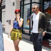 Pour son boyfriend, Rihanna met le paquet question couleurs... Too much ?
