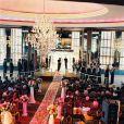 La rainbow wedding room où se tiendra la réception du mariage