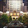 Vue du Rockfeller center à N.Y où se tiendra le mariage