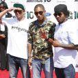 Le groupe N.E.R.D (avec au centre Pharrell Williams) lors de la soirée des BET Awards 2010 au Shrine Auditorium à Los Angeles le 27 juin 2010