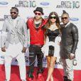 Les Black Eyed Peas lors de la soirée des BET Awards 2010 au Shrine Auditorium à Los Angeles le 27 juin 2010