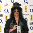 Silver Clef Awards à Londres, le 2 juillet 2010 : Slash