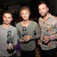 Silver Clef Awards à Londres, le 2 juillet 2010 : Matthew Bellamy et Muse