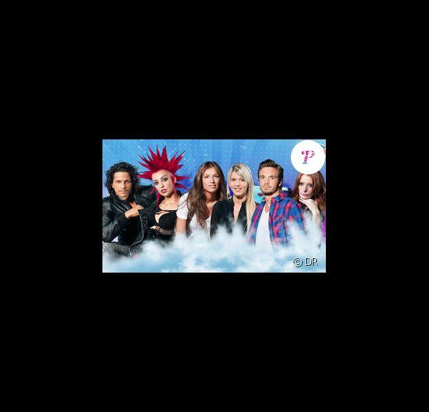 Six candidats de cette quatrième saison de Secret Story : Ahmed,  Charlotte, Julie, Amélie, Maxime et Chrismaëlle.
