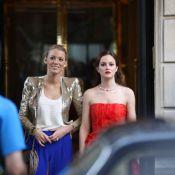 Gossip Girl : Leighton Meester sculpturale, Blake Lively radieuse, ont terminé le tournage en beauté !