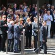 Obsèques de Francis Vacher, le 7 juillet 2010.