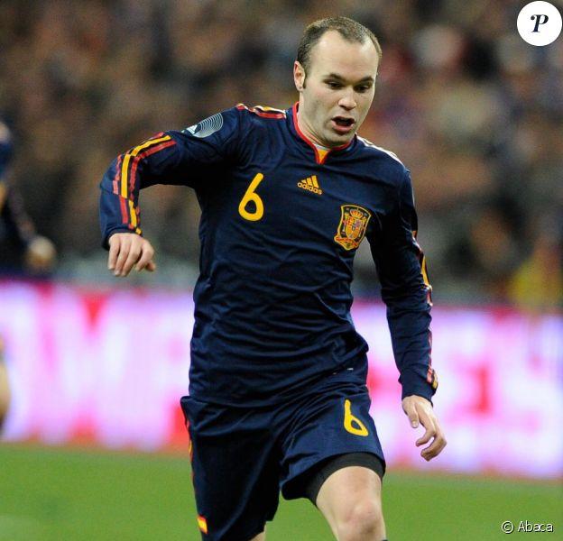 Iniesta a marqué le but que fait l'Espagne championne du monde de football !