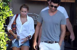 Miley Cyrus : Accro à son chéri... elle a déjà ses petites habitudes !
