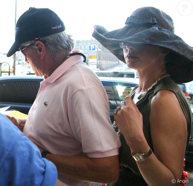 Mi-juillet 2010 : Michael Douglas et Catherine Zeta-Jones s'offrent une escapade romantique à Stockholm !