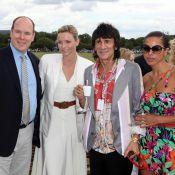 Albert de Monaco et Charlene, chic et cool avec les amoureux survoltés Ronnie Wood et Ana Araujo !