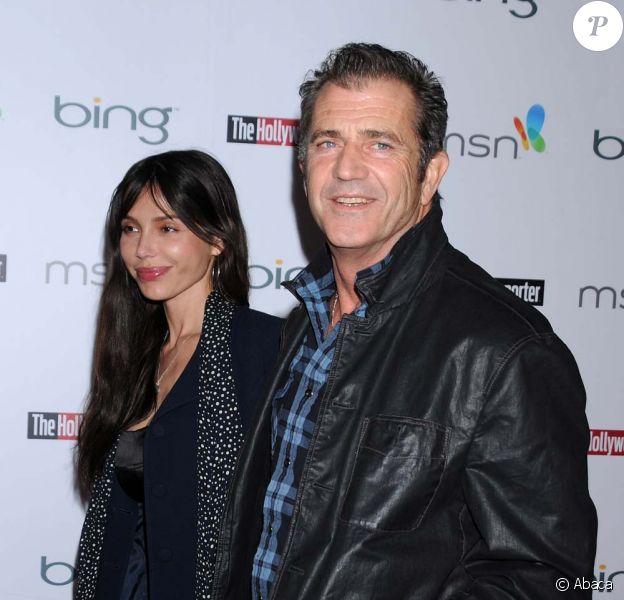 Mel Gibson et Oksana Griogorieva, mars 2010