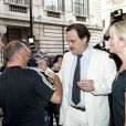 Oliver Stone, lors de l'avant-première de  South of the Border , au Curzon Cinema de Mayfair, à Londres, le 19 juillet 2010.