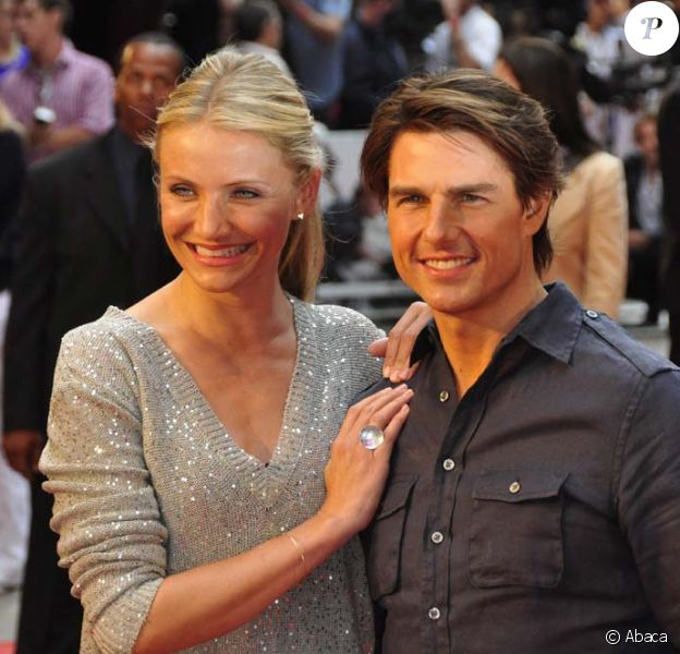 Avant-première de Night and Day, à Londres, le 22 juillet 2010 : Tom Cruise et Cameron Diaz