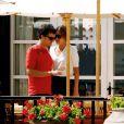 Orlando Bloom et Miranda Kerr lors de leurs vacances en amoureux