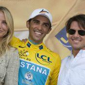 """Découvrez Tom Cruise et Cameron Diaz sur la route du Tour de France... et à l'avant-première de """"Night and Day"""" !"""