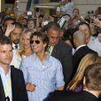 Tom Cruise à l'occasion de l'avant-première de  Night and Day , à Bordeaux, le 23 juillet 2010.
