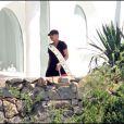 Janet Jackson et son nouvel amoureux partagent quelques jours de vacances dans une magnifique villa, en Sardaigne.