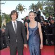 dimitri rassam et sa m re carole bouquet en 2007 lors du festival de cannes purepeople. Black Bedroom Furniture Sets. Home Design Ideas