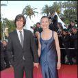 Dimitri Rassam et sa mère Carole Bouquet en 2007 lors du festival de Cannes