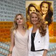 Georgia May Jagger et Jerry Hall
