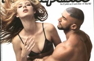 Quand la belle Louise Bourgoin croise la star du porno gay François Sagat, l'interview ne peut être que sexuelle...
