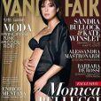 Monica Bellucci enceinte pour  Vanity Fair  italie