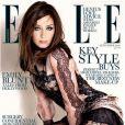La magnifique Emily Blunt en couverture du numéro de septembre 2010 de l'édition britannique du magazine  Elle .
