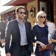 L'actrice américaine Renée Zellweger et son boyfriend l'acteur Bradley Cooper