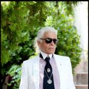 Karl Lagerfeld a pris ses quartiers à Saint Tropez... mais où est le beau Baptiste ?