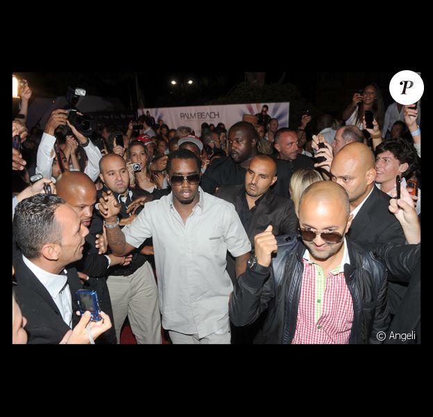P. Diddy pour le lancement de son nouvel album Last Train in Paris, au Palm Beach Summer Club de Cannes