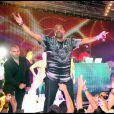 Busta Rhymes lors de l'évenement crée par P. Diddy pour le lancement de son nouvel album Last Train in Paris, au Palm Beach Summer Club de Cannes