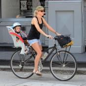 Naomi Watts, Liev Schreiber et leurs irrésistibles garçons : Des cyclistes de choc !