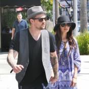 """Nicole Richie et Joel Madden : Les amoureux """"made in Hollywood"""" ne se quittent plus... Merci la nounou !"""