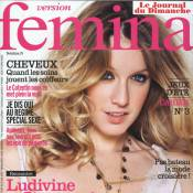 """Ludivine Sagnier : """"Je suis une maman autoritaire""""..."""