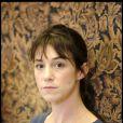 Charlotte Gainsbourg lors de la conférence de presse de Melancholia, de Lars von Trier