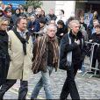 Didier Barbelivien, visiblement très affecté par la mort de Thierry Gilardi