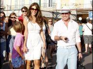 Elizabeth Hurley : A Saint-Tropez, elle ne vient jamais sans sa clique au grand complet !