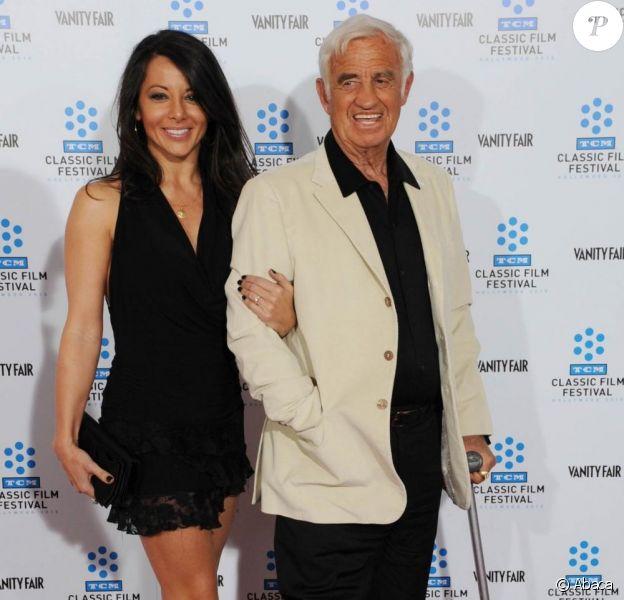 Jean-Paul Belmondo et sa compagne Barbara Gandolfi