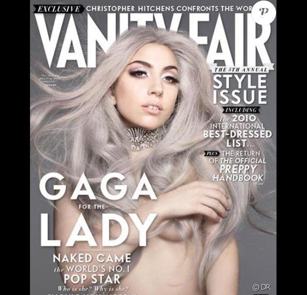 Lady Gaga en couverture de Vanity Fair