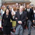 Les obsèques du prince Carlos Hugo de Bourbon-Parme, décédé le 18 août, se sont déroulées le 28 août à la basilique Santa Maria della Steccata. Le prince Carlos et sa femme Annemarie.