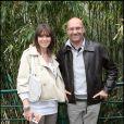 Laurent Fignon et sa femme Valérie en mai 2010