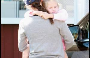 Violet Affleck : la fille de Jennifer Garner se transforme... en vrai petit singe !