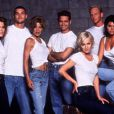 Une partie du casting de la série Beverly Hills