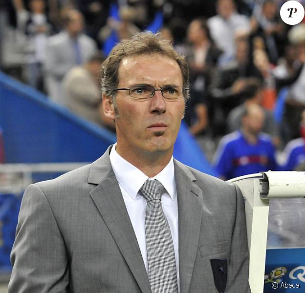 Laurent Blanc, le sélectionneur de l'équipe de France de football.