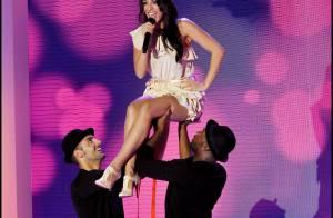 Sofia Essaïdi dans les airs et Michel Sardou entouré des beautés du Crazy Horse : quel show !