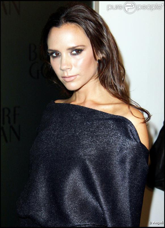 Victoria Beckham chez Bergdorf Goodman à l'occasion de la Fashion's Night Out à New York, dans le cadre de la Fashion Week. Le 10 septembre 2010