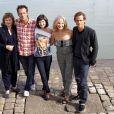 Le casting de  Demain je me marie  au Festival de la  Fiction TV de La Rochelle, samedi 10 septembre.