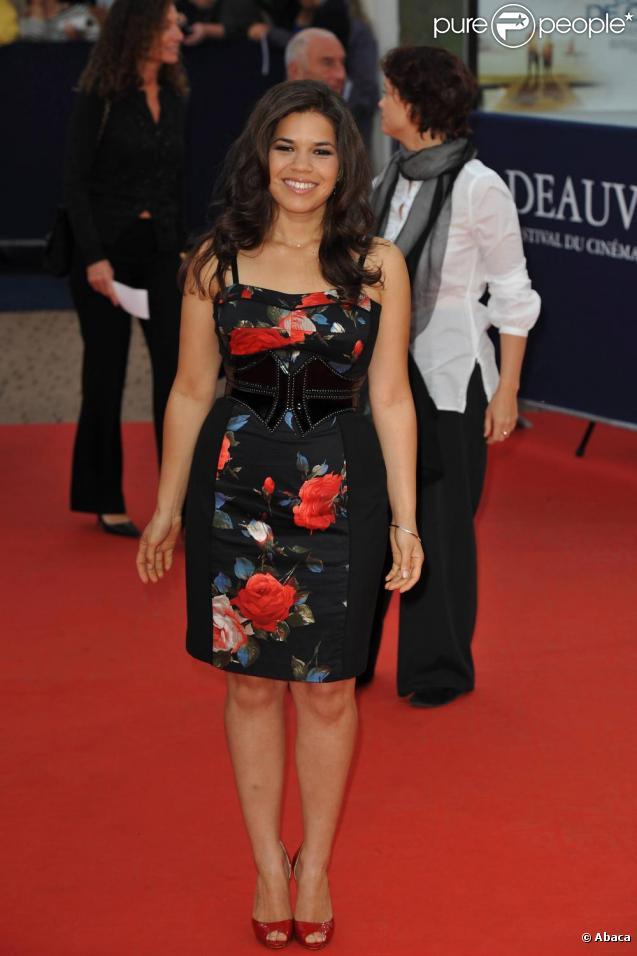 America Ferrera à la cérémonie de fermeture du festival de Deauville