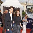 Emmanuelle Devos et son fils à la clôture du Festival de Deauville